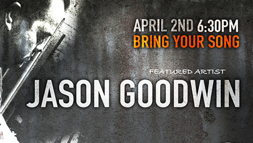 Bring Your Song Writers Night at Realgrey Records Featuring Jason Goodwin
