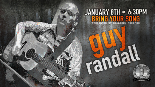 Bring Your Song Writers Night at Realgrey Records Featuring Guy Randall